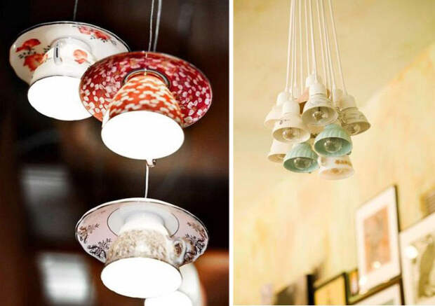 Teacup Lamps