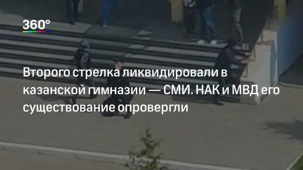 Второго стрелка ликвидировали в казанской гимназии— СМИ. НАК и МВД его существование опровергли