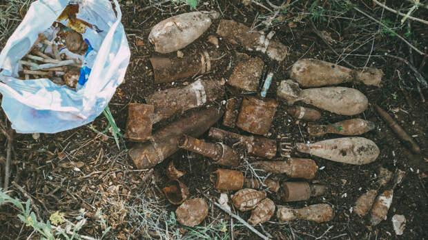 За неделю майских праздников в Севастополе обнаружили 145 мин и бомб времён Великой Отечественной войны