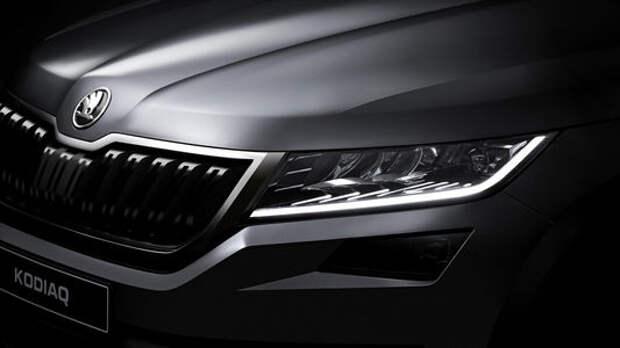 В деталях: Skoda опубликовала изображения нового большого SUV