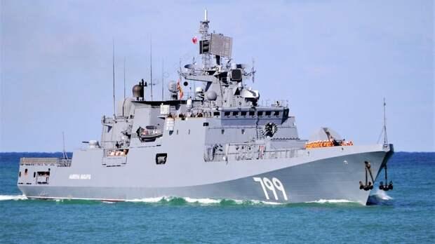 ВМФ РФ следит за вошедшим в Черное море кораблем ВМС Британии