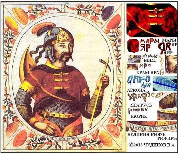 История Острова Русов, прочитанная В.А. Чудиновым под микроскопом. О славянской мифологии.