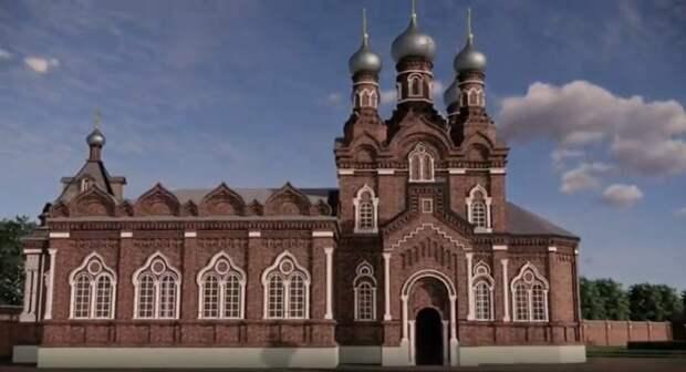 Энтузиасты создали объемную модель Казанского Головинского монастыря