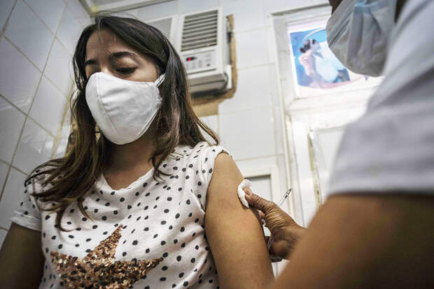 На Кубе начали прививать от COVID-19 местным препаратом Abdala