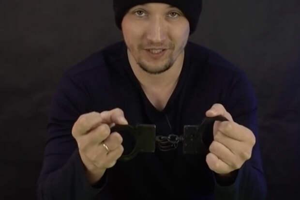 Рвем наручники простым движением: метод рычага