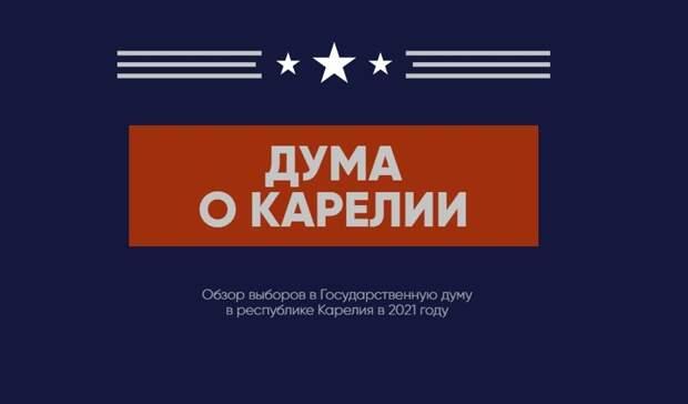 Дума о Карелии. Обзор выборов в Госдуму по Республике Карелия 2021