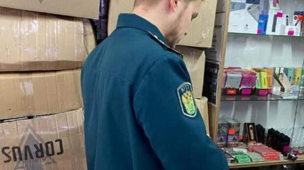 Наполмиллиона рублей хотел обогатиться продавец нелегальных сигарет вРостове