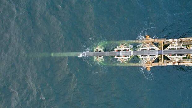"""Строительство части """"Северного потока-2"""" в водах Дании подходит к концу"""