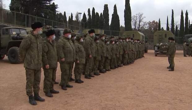 В Ялте военные начали разворачивать госпиталь для больных Covid-19