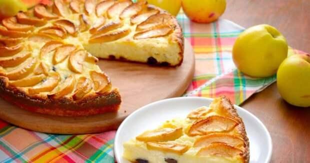 Яблочная запеканка. Сочный и ароматный яблочный десерт 2