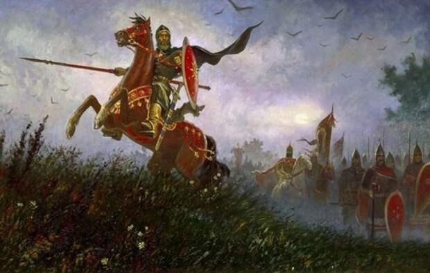 Славянское сословие витязей