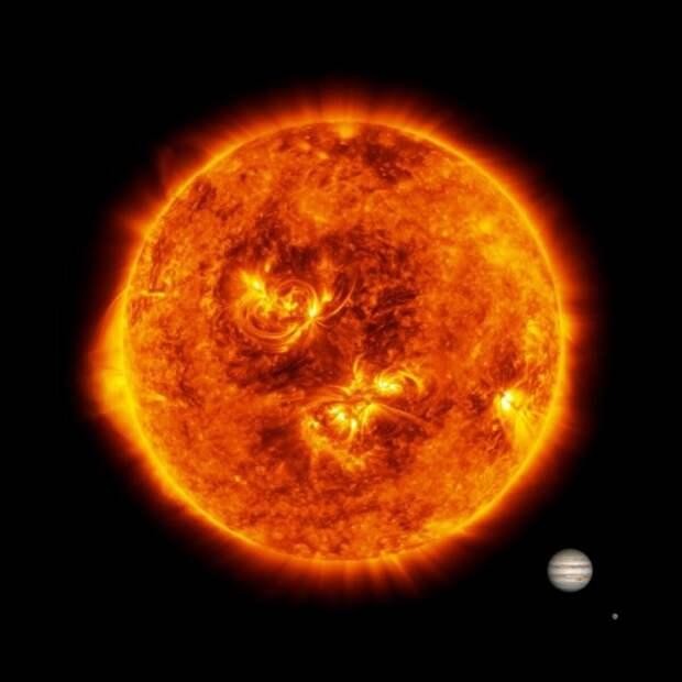 На Солнце снова что-то взорвалось