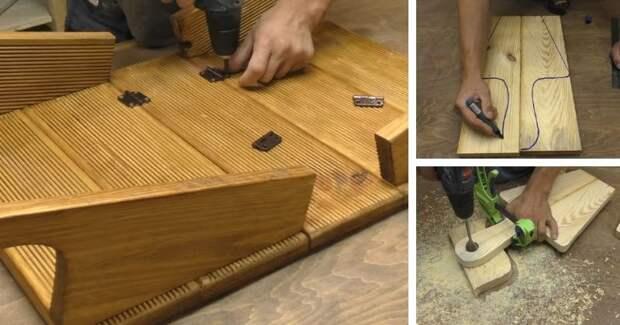 Идеальное изобретение для пикника. Экономит место и является супер-практичным
