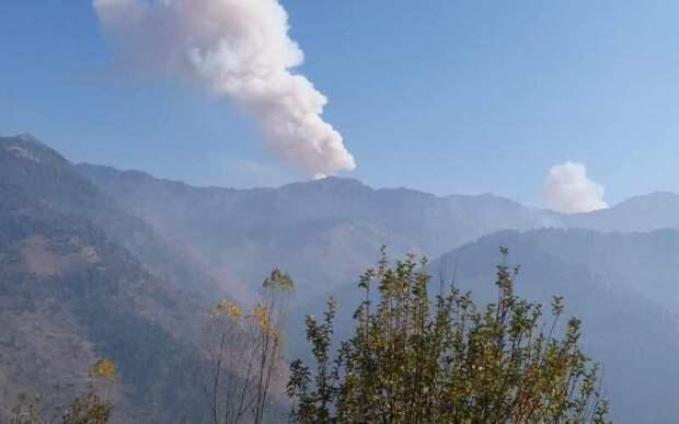 Индия нанесла удары по позициям Пакистана