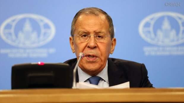 Лавров жестко ответил Евросоюзу на обвинение в незаконности российских санкций