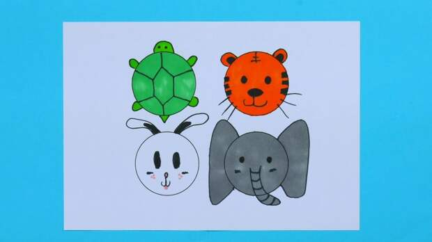 Рисуем вместе с детьми: 4 простых трюка для детских рисунков