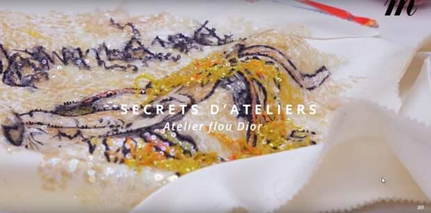 Модный дом Christian Dior открыл двери своих мастерских за несколько дней до своего показа моды весна-лето 2019 года и в этом почти четырехминутном видео показал как его мастера работают над новой коллекцией