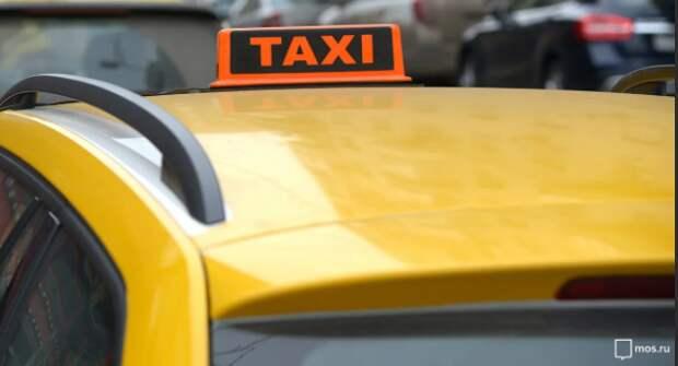 Таксист сбил мотоциклиста на Пятницком шоссе