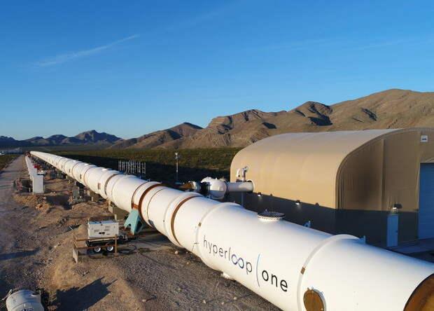 Американцы построили тестовый участок Hyperloop
