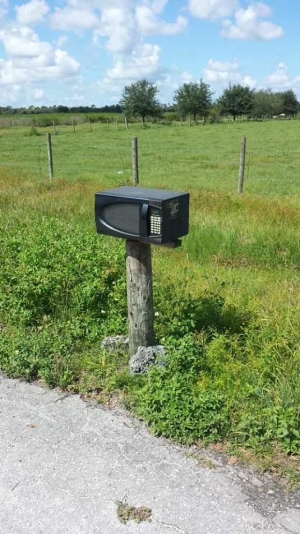 11. вот это да!, креатив на улице, креатив умельцы, наши руки не для скуки, необычное в обычном, почтовые ящики, почтовый ящик, смелое решение