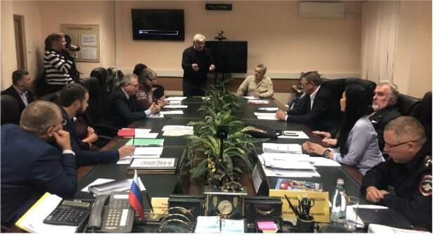 На севере Москвы прошло заседание Общественного совета при УВД по САО
