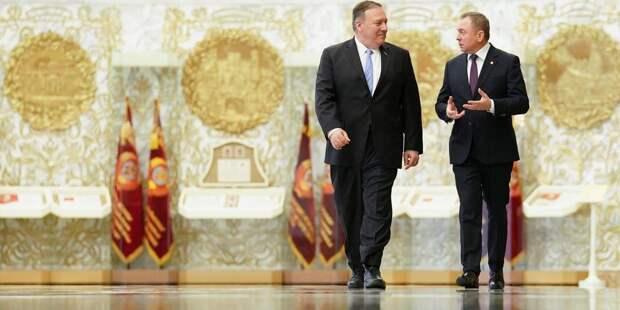 Показательно молчание Госдепартамента о событиях в Белоруссии