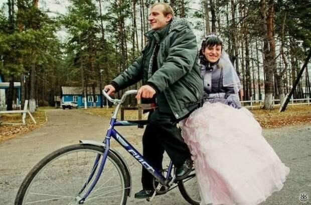 Прикольные свадебные торжества 20