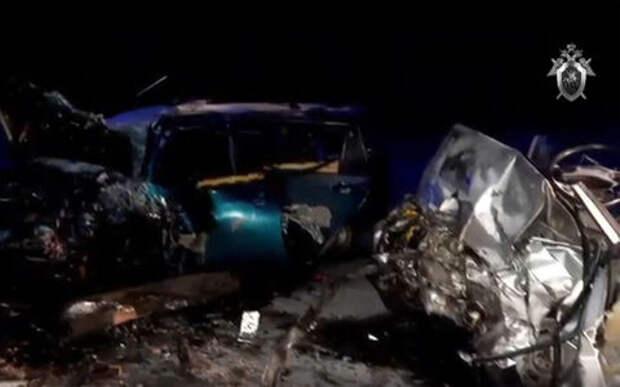 Четверо полицейских и гражданский погибли в ДТП