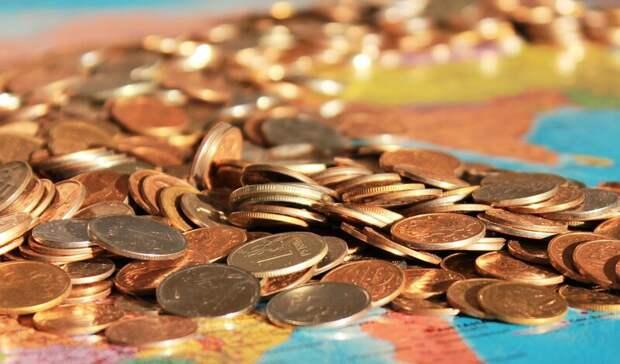 Доллар вырос крублю на1 копейку