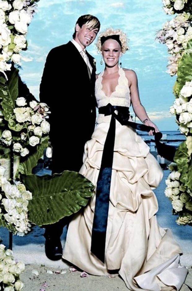 свадьба певицы пинк