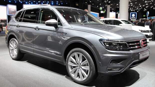 Концерн Volkswagen показал публике обновленный Tiguan Allspace