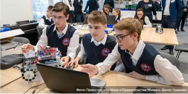 Сергунина: В Москве пройдет региональный чемпионат First Russia Robotics Championship