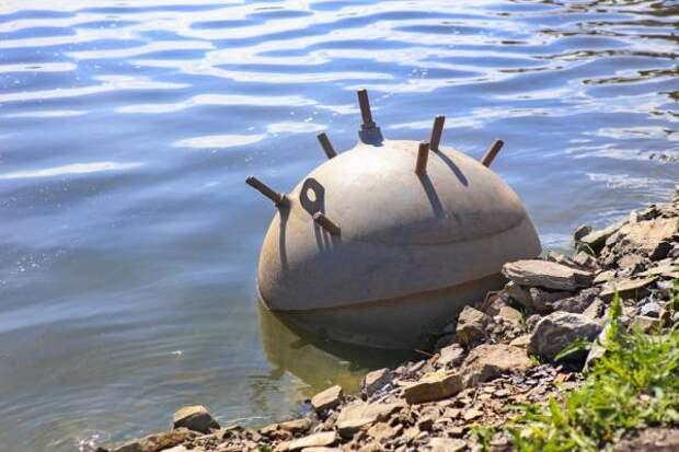 Бомба весом в полтонны обнаружена в гавани Портсмута