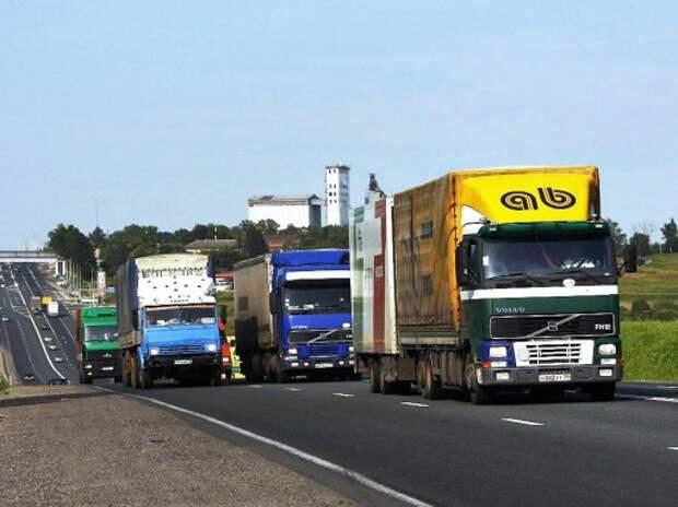 Правительство решило введет плату за проезд большегрузов по региональным дорогам