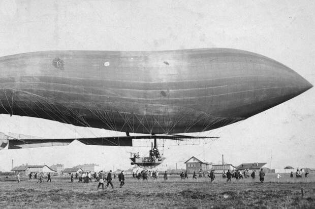 Полет «Кречета»: как взлетел первый русский военный дирижабль