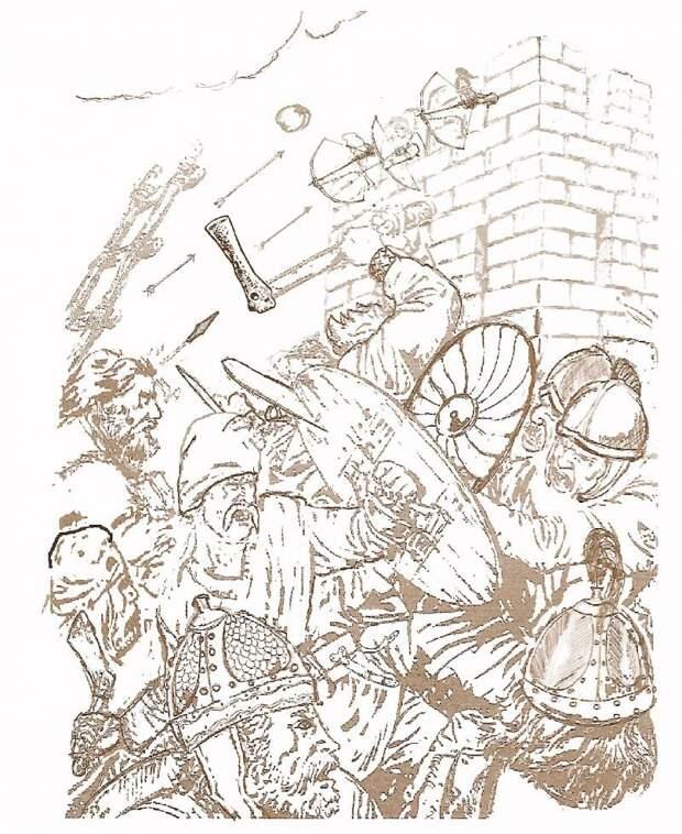 Как древние славяне брали города