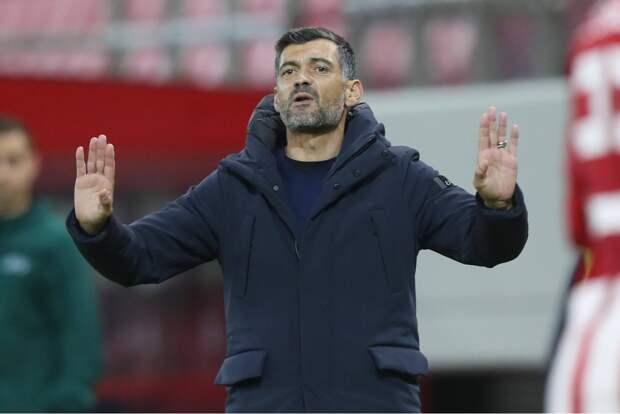 Источник: «Зенит» интересуется тренером «Порту»