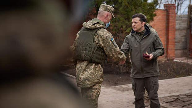 Как Зеленский съездил в Донбасс