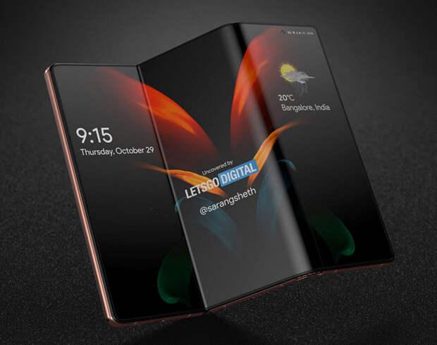 Samsung покажет экран S-Foldable, 17-дюймовый складной дисплей, подэкранную камеру и другие новинки на этой неделе