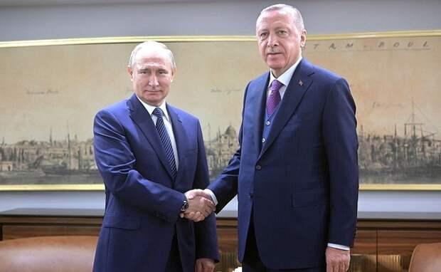 """Эрдоган процитировал на открытии """"Турецкого потока"""" русскую пословицу"""