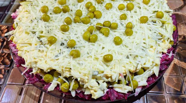 Фото к рецепту: Зимний салат