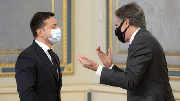 Американские СМИ: визит Блинкена на Украину не оправдал ожидания Киева