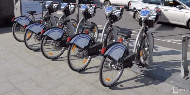 Первый час проката велосипедов в Отрадном будет бесплатным девятого мая