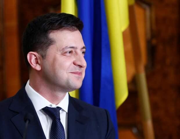 Владимир Зеленский выразил благодарность США за поддержку суверенитета Украины