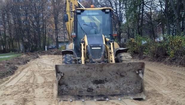 Новые парковочные места появятся во дворе на улице Победы в Подольске