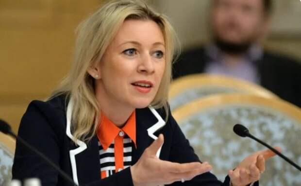 У Киева нет слов. Захарова поставила их журналистов на место