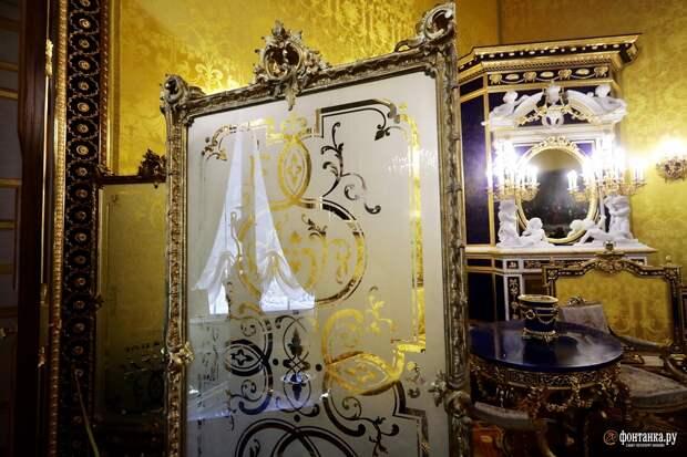 Лионский зал в Царском селе открывают после полной реставрации. Его сравнивают с Янтарной комнатой