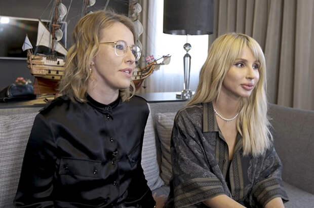 Лобода поговорила с Собчак о Тилле Линдеманне, детях, пластических операциях и феминизме