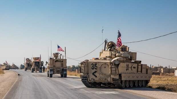 США планируют отправить больше бронетехники в нефтяную зону Сирии