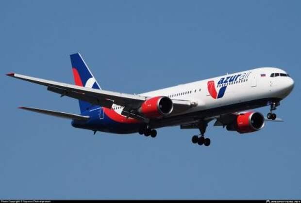 Boeing 767-306ER авиакомпании Azur Air